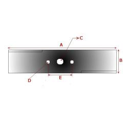 Vierkant Nylon draad 2,5 Kg